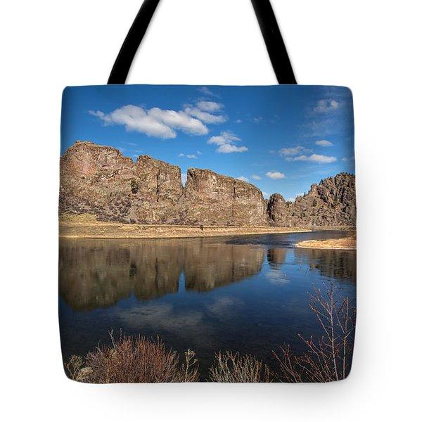 Canyon Reflections Tote Bag