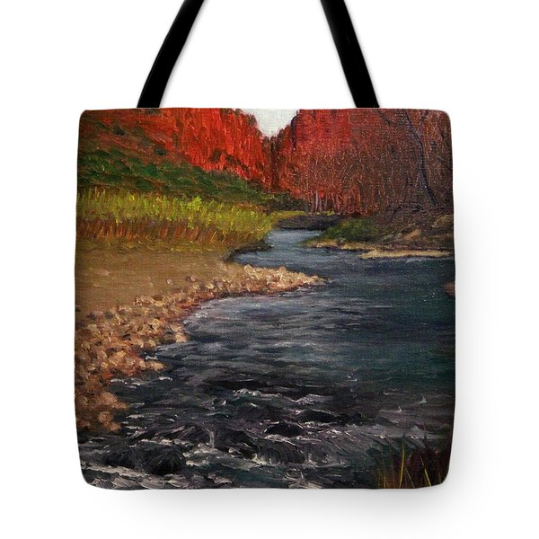 Canyon River Tote Bag