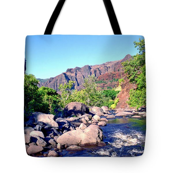 Canyon River  Tote Bag by Kevin Smith