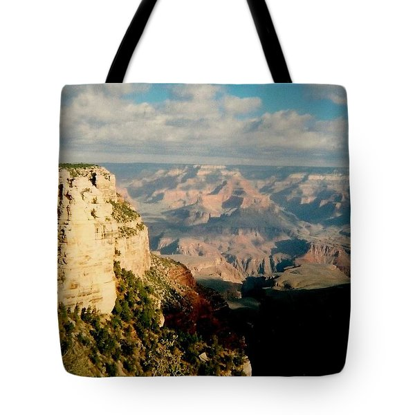 Tote Bag featuring the photograph Canyon Shadows by Fred Wilson