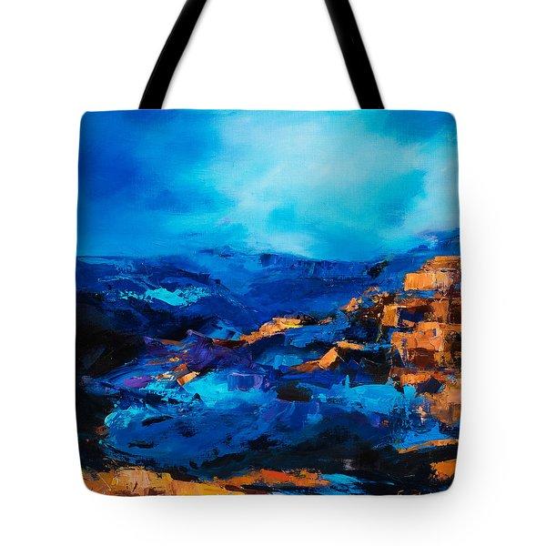Canyon Song Tote Bag