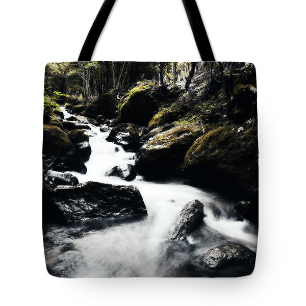 Canyon Stream Tote Bag