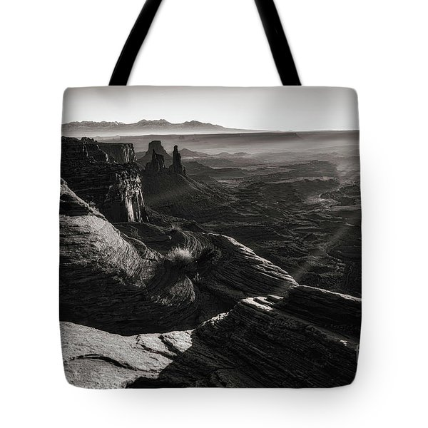 Canyon Sunbeams Tote Bag