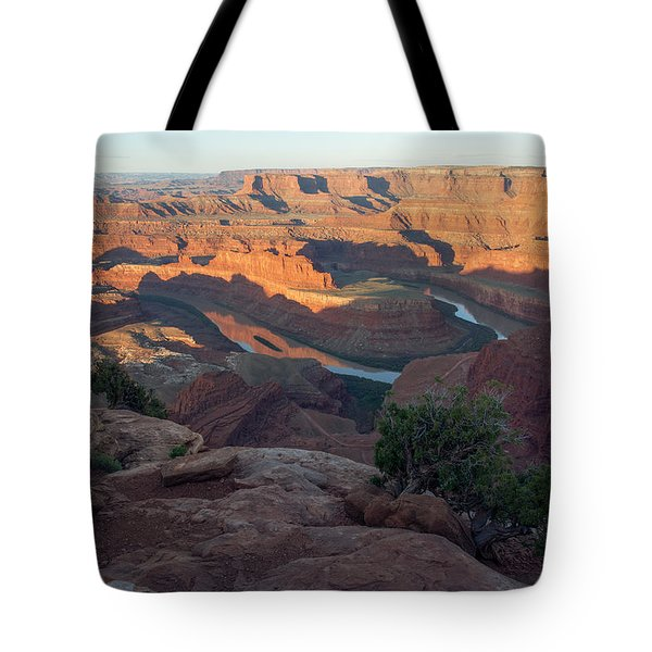 Tote Bag featuring the photograph Canyon Sunrise by Aaron Spong