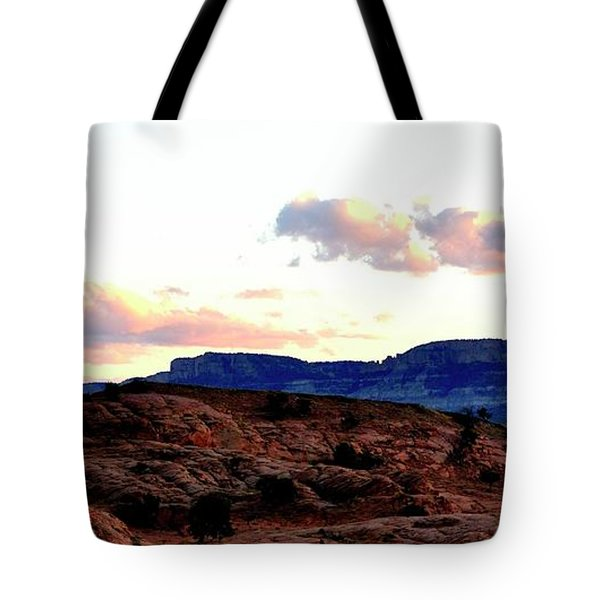 Canyon Sunset Tote Bag
