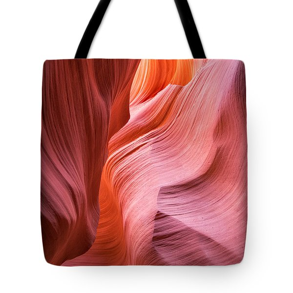 Tote Bag featuring the photograph Canyon Swirls by Patricia Davidson