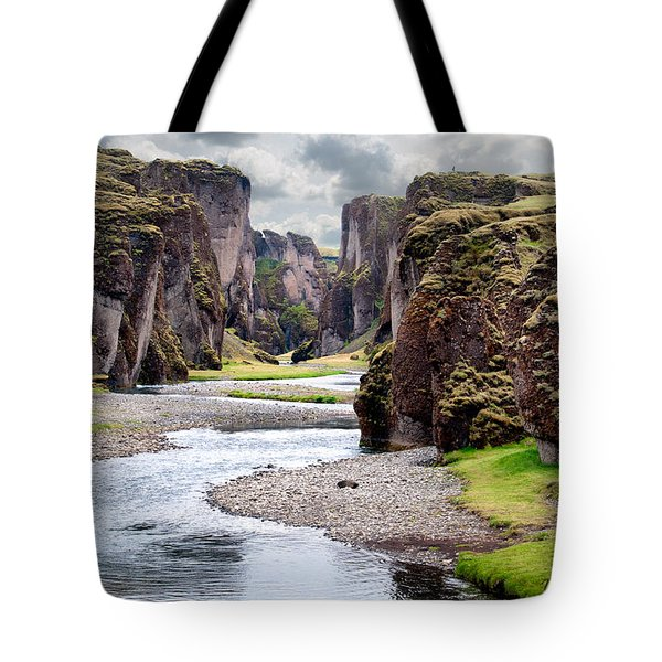 Canyon Vista Tote Bag by William Beuther