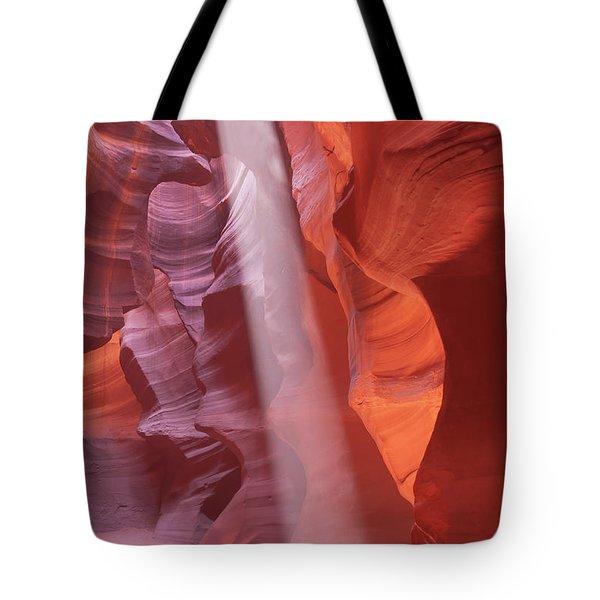 Antelope Canyons Light Burst Tote Bag