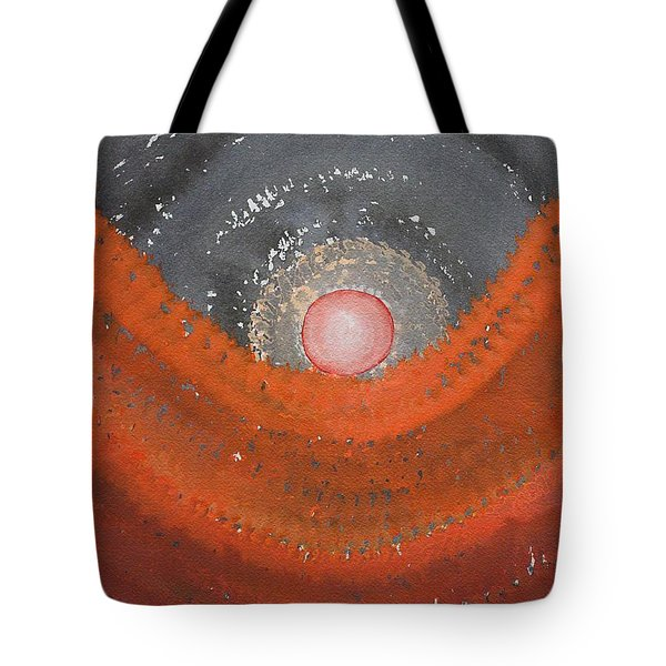 Canyon Wave Original Painting Tote Bag