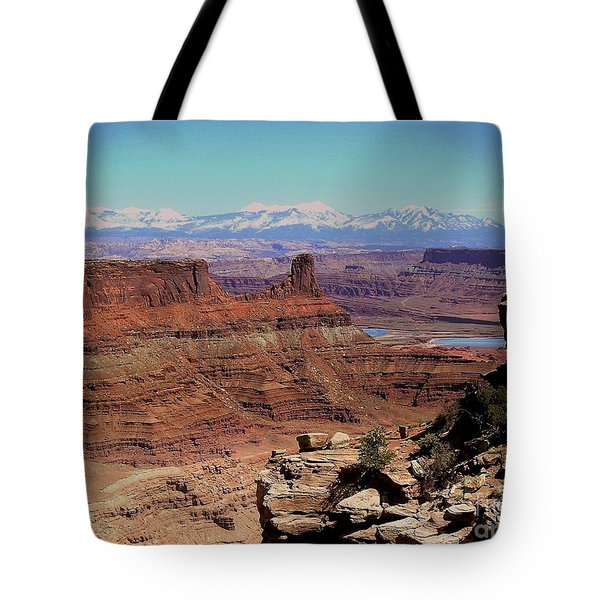 Canyonlands 5 Tote Bag by Marty Koch
