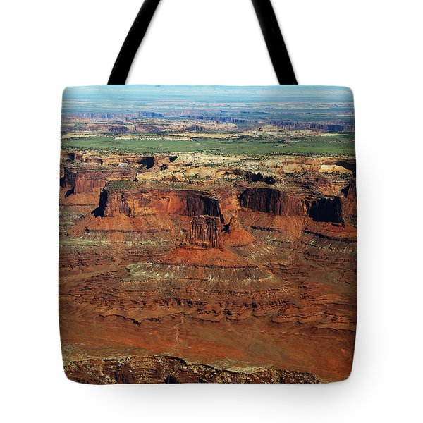 Canyonlands Buttes In Canyonlands National Park Tote Bag