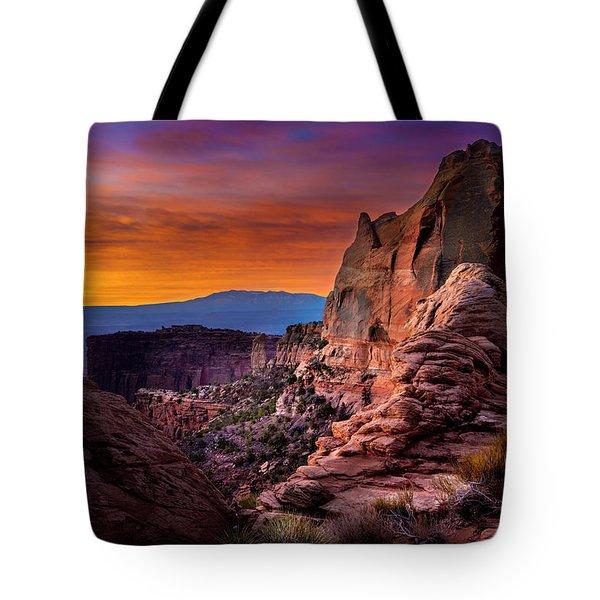Canyonlands Sunrise Tote Bag