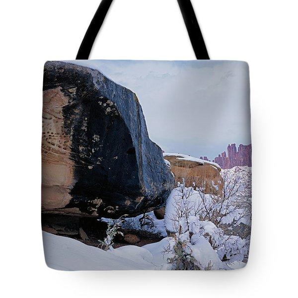 Canyonlands Swirl Tote Bag
