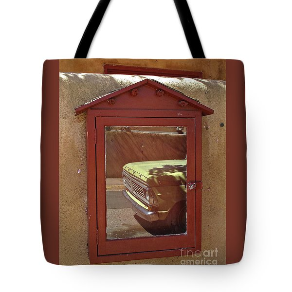 Canyonrowreflect02 Tote Bag