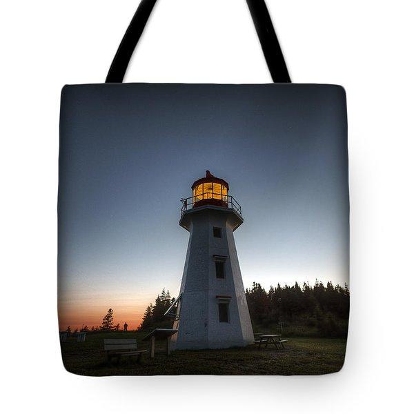 Cap Gaspe Sunset Tote Bag