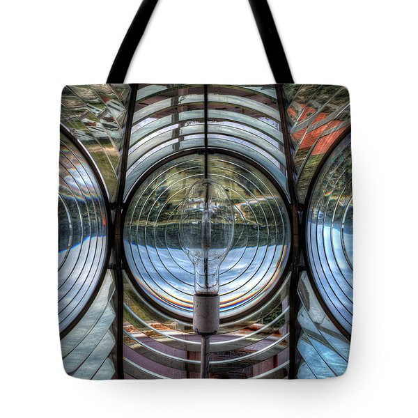 Cap Madeleine Lighthouse Tote Bag