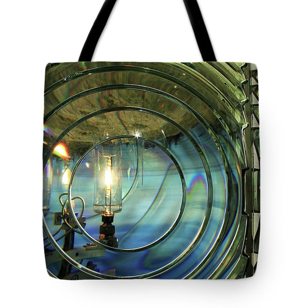 Cape Blanco Lighthouse Lens Tote Bag