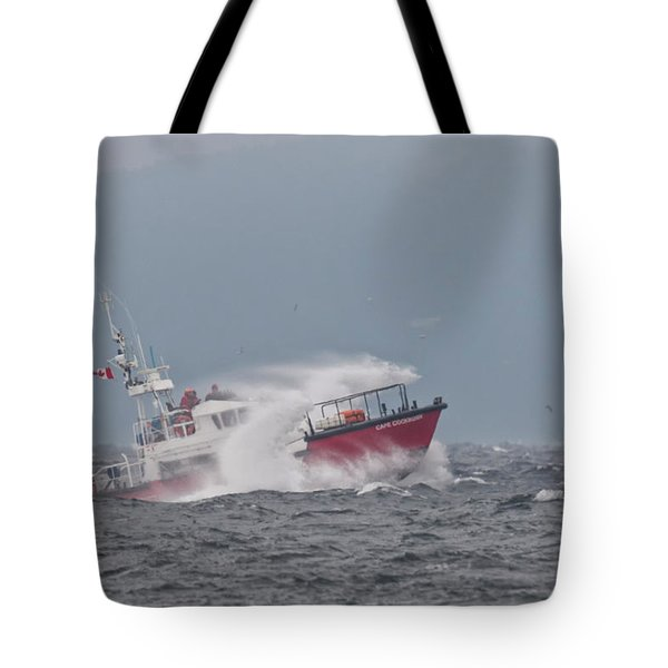 Tote Bag featuring the photograph Cape Cockburn by Randy Hall