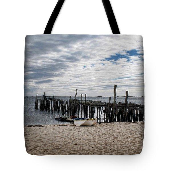 Cape Cod Bay Tote Bag by Joan  Minchak