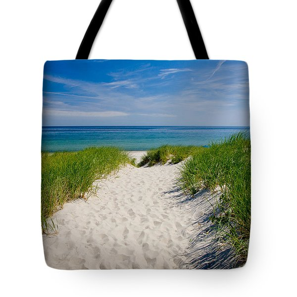 Cape Cod Bay Tote Bag by Susan Cole Kelly