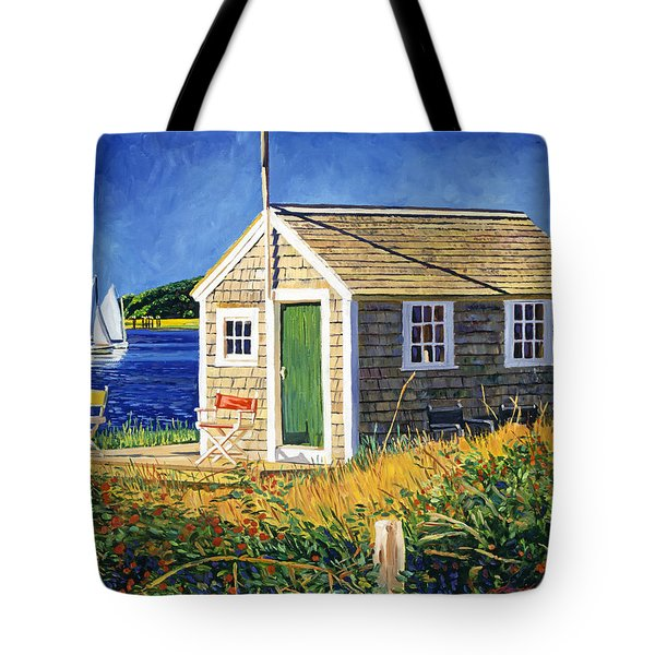 Cape Cod Boat House Tote Bag