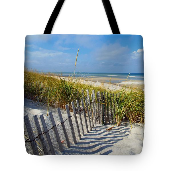 Cape Cod Charm Tote Bag by Dianne Cowen