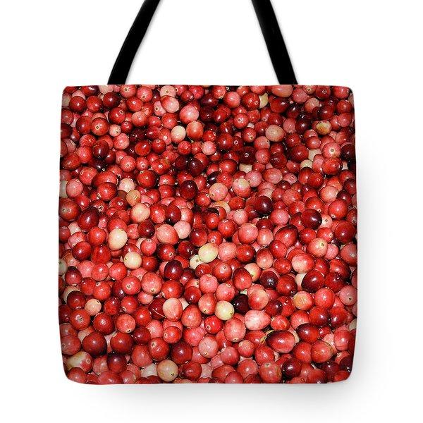 Cape Cod Cranberries Tote Bag