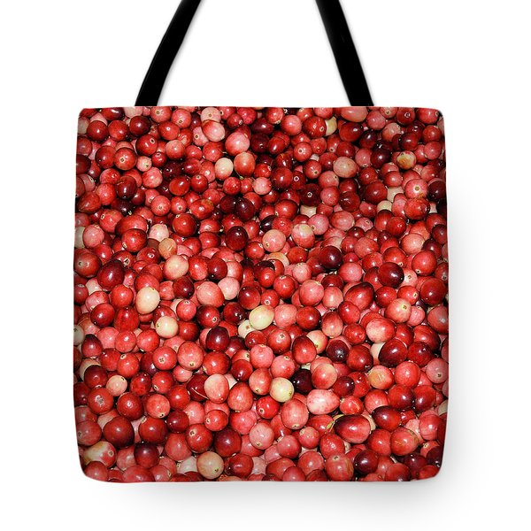 Cape Cod Cranberries Tote Bag