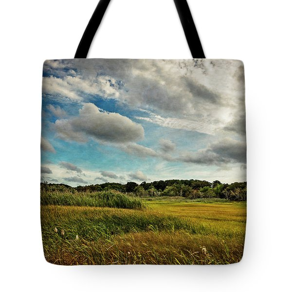Cape Cod Marsh 2 Tote Bag
