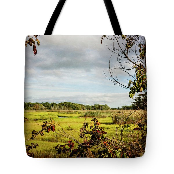Cape Cod Marsh 3 Tote Bag