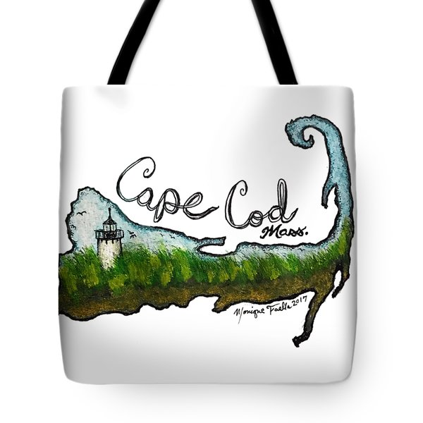 Cape Cod, Mass. Tote Bag