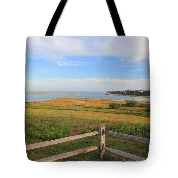Cape Cod National Seashore Fort Hill Overlook Tote Bag