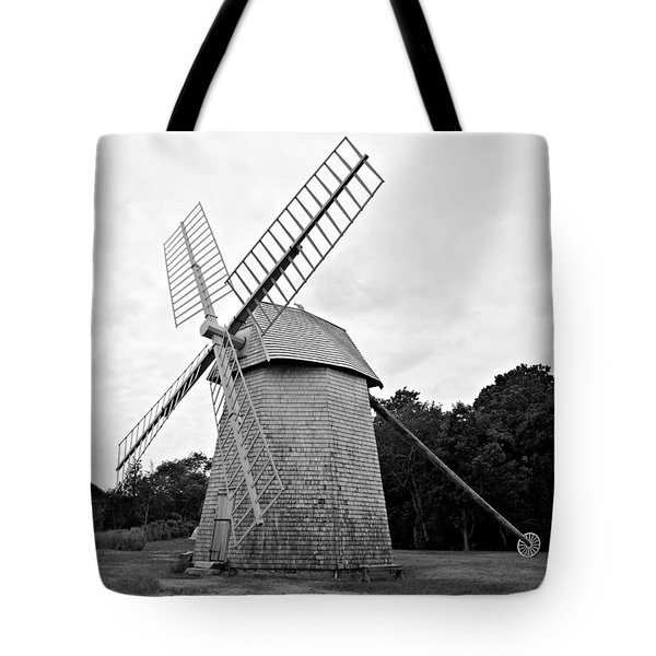 Cape Cod - Old Higgins Farm Windmill Tote Bag