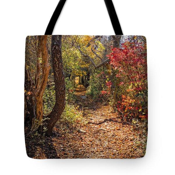 Cape Cod Path Tote Bag