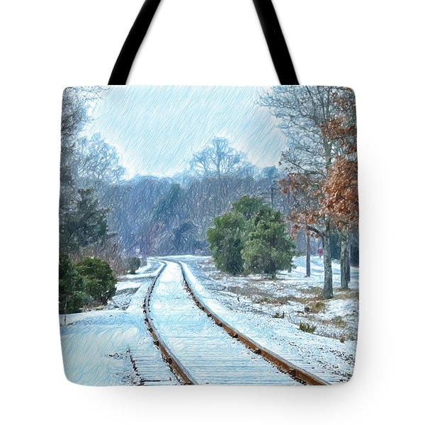 Cape Cod Rail And Trail Tote Bag