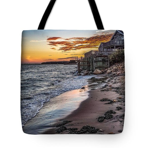 Tote Bag featuring the photograph Cape Cod September by Kendall McKernon