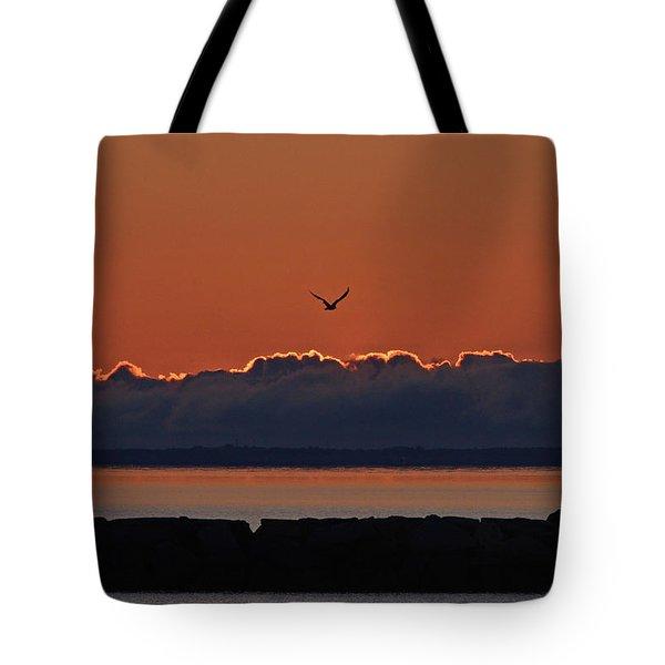 Cape Cod Sunrise #2 Tote Bag