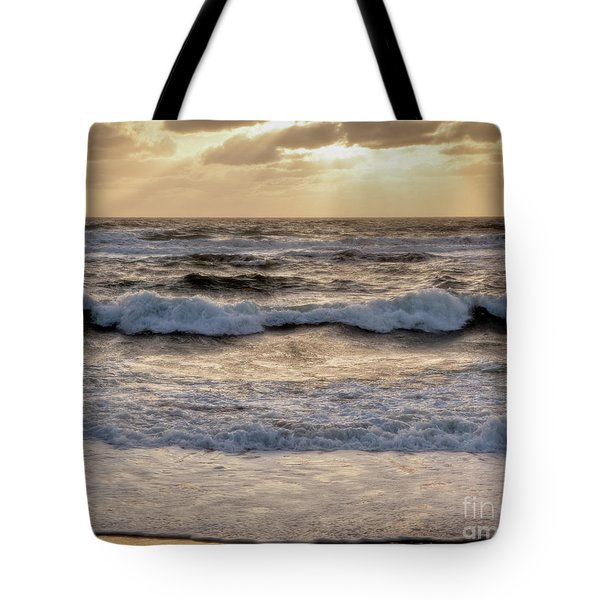 Tote Bag featuring the photograph Cape Cod Sunrise 2 by Susan Cole Kelly