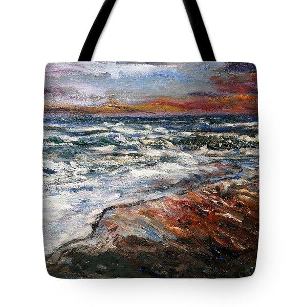 Cape Cod Sunset 1 Tote Bag
