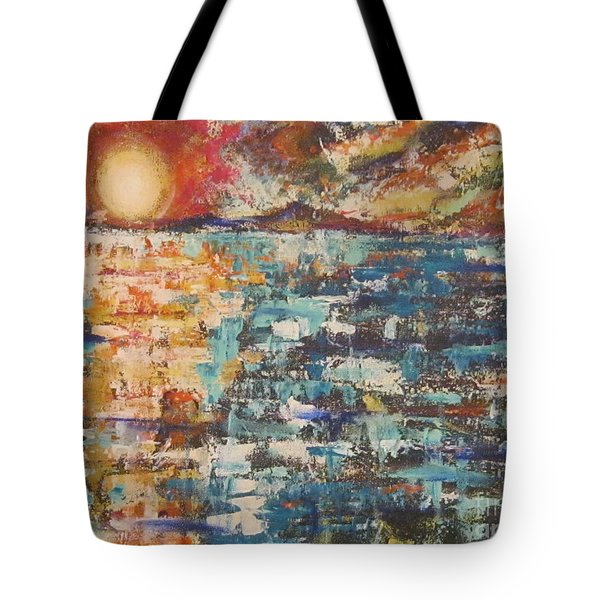 Cape Cod Sunset Tote Bag
