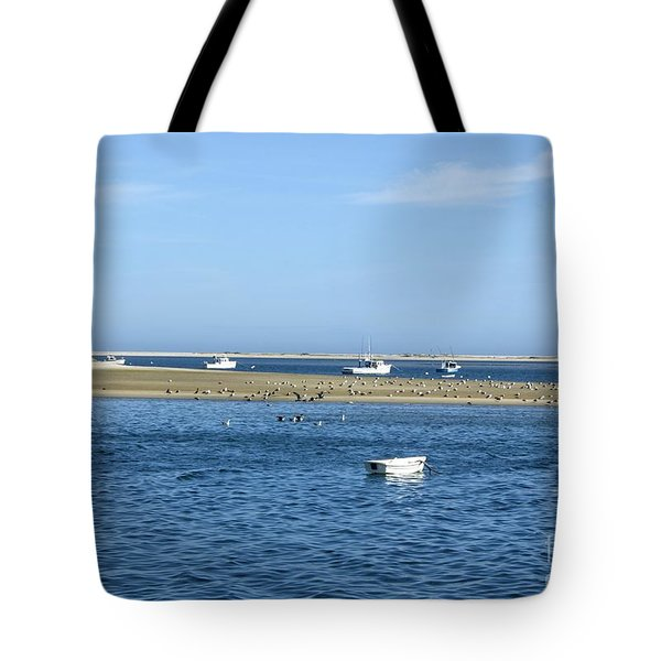 Tote Bag featuring the photograph Cape Cod Tranquility by David Birchall