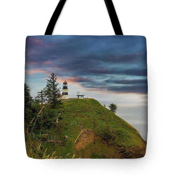 Cape Disappointment After Sunset Tote Bag by David Gn