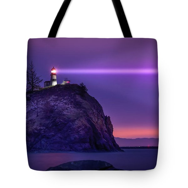 Cape Disappointment Light Tote Bag