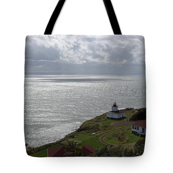 Cape D'or Lighthouse Tote Bag