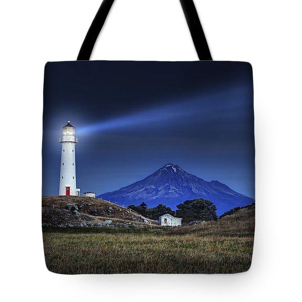Cape Egmont Tote Bag