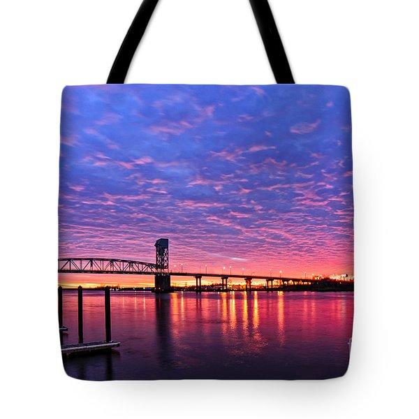 Cape Fear Bridge1 Tote Bag