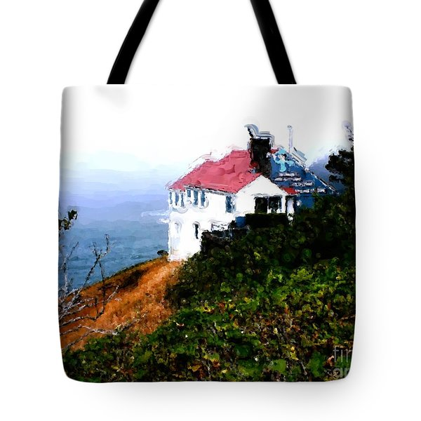 Cape Foulweather Tote Bag by Methune Hively