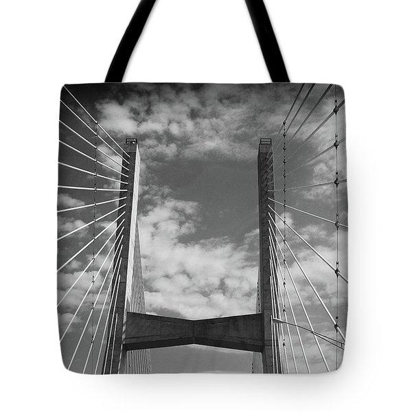 Cape Girardeau Bridge Tote Bag