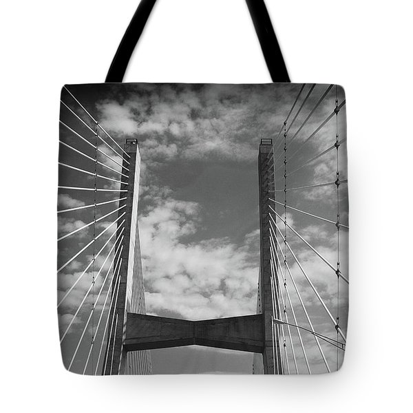 Cape Girardeau Bridge Tote Bag
