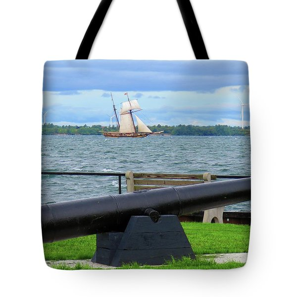 Cape Vincent Gun Tote Bag